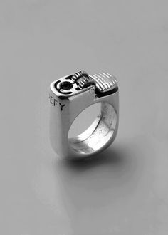 Unique lighter ring  #getdressed