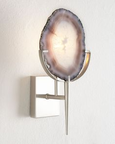 Agate Wall Sconce at Horchow.