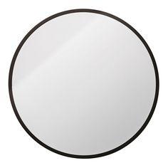 Metalframe Speil Rund, Svart, Bloomingville Sort, Bathrooms, Mirror, Google, Accessories, Black, Home Decor, City Bathroom Inspiration, Homemade Home Decor