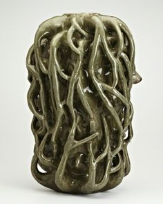 Axel Salto; Glazed Ceramic Vase, c1940.