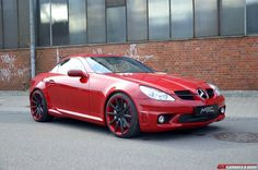 MEC Design have a new build, this time a Mercedes-Benz SLK 55 AMG fitted with their in-house mods. Mercedes Benz Slk, Hot Bikes, All Cars, Sport Cars, Dream Cars, Classic Cars, Automobile, Motorcycles, Street Rods