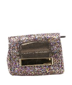 Jimmy Choo Caro Multi-Color Sequin Sequin Clutch