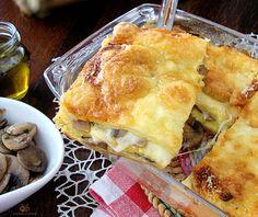 Lo Sformato gustoso con funghi e mozzarella è un'idea molto saporita per un secondo piatto alternativo e sostanzioso.