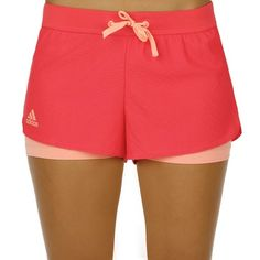 adidas Shorts Sequentials Core - Women shock red/sun glow