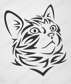 machine embroidery designs new Cat Machines, Cat Clipart, Cat Vector, Wood Burning Patterns, Scroll Saw Patterns, Cat Crafts, Stencil Art, Cat Drawing, Drawing Ideas