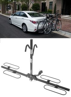 Securely transport two bikes with Swagman XC Bike Rack Platform. Make sure those bikes are safe while traveling to and from your cycling or biking destination.