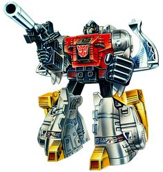 Botch's Transformers Box Art Archive - 1985Autobots - Sludge
