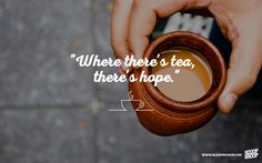 A friend, a healer and a companion - Chai. Here are 30 chai quotes that will make you want your next cup of chai right away. Cup Of Tea Quotes, Tea Quotes Funny, Tea Lover Quotes, Chai Quotes, Food Quotes, Coffee Quotes, True Quotes, Tea Wallpaper, Black Wallpaper