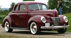 1940 Ford Deluxe Coupe Maintenance/restoration of old/vintage vehicles: the mate… – Classic Cars Vintage Cars, Antique Cars, Vintage Ideas, Classic Car Restoration, Ford Classic Cars, Old Fords, Classic Motors, Us Cars, Car Ford