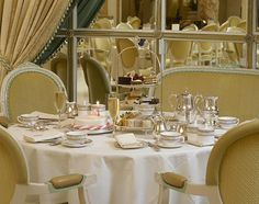 Afternoon tea at the Ritz... or in London, or at the Carolina Inn, or at The Rittenhouse. All wonderful places for this wonderful tradition.