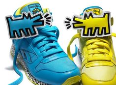 Reebok by Keith Haring