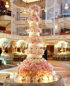 Wow-Worthy Wedding Cakes: A Slice of Sweet with Dessert Designer Sylvia Weinstock - Pretty in Pink - from InStyle.com