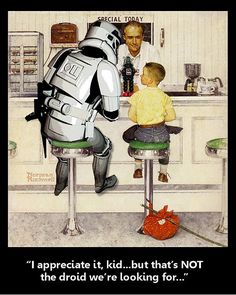 Star Wars: Norman Rockwell