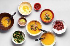 Pumpkin Soup with minipic www. Pumpkin Soup, Curry, Yummy Food, Ethnic Recipes, Butternut Squash Soup, Curries, Squash Soup, Delicious Food, Good Food