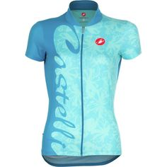 Turquoise Castelli jersey