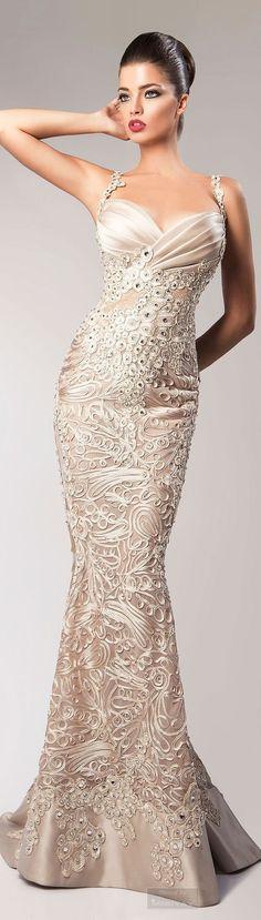 @roressclothes clothing ideas #women fashion maxi gown Gorgeous dress: