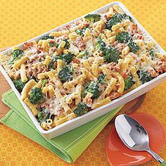 Baked Ziti with Broccoli and Sausage Recipe