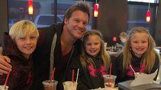 Chris Jericho s dětmi