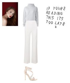 """""""Sans titre #8307"""" by ghilini-l-roquecoquille ❤ liked on Polyvore featuring Le Kasha, Roland Mouret and Steve Madden"""