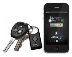 Cobra Electronics has updated its tag in time for the CES 2012. The Cobra Tag is a Bluetooth device which syncs with your iPhone and triggers a configurable alarm if the two devices are separated beyond a certain distance.