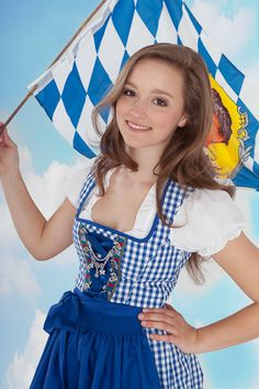 i want a german dirndl!  plus this one is bavarian to the max!