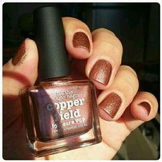 Picture polish Copper Field