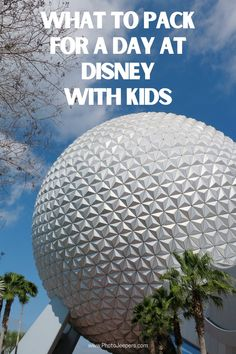 Planning a Disney vacation with kids can be overwhelming. There is so much to see, do, eat…and pack! A Disney Day Bag is a must when you visit the park with kids. It's a complete list of things to bring to Disney when you visit with kids. It covers all the basics of what to pack in your Disney park bag so you can relax and have fun knowing you haven't forgotten anything. #disney #disneyland #familytravel #photojeepers Disney World Florida, Disney World Parks, California National Parks, California Travel, Packing List For Disney, Packing Tips, Travel Packing, Travel Tips, New Travel