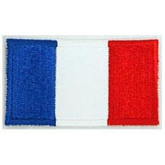 France, Paris, French, Eiffel Tower, Louvre, Flag, Patch, Embroidered