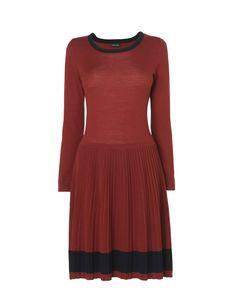 Merino Knitted Wool Dress A/W12