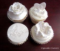 Ideales para una boda! Cupcake Cravers - W.A. - www.cakeappreciationsociety.com