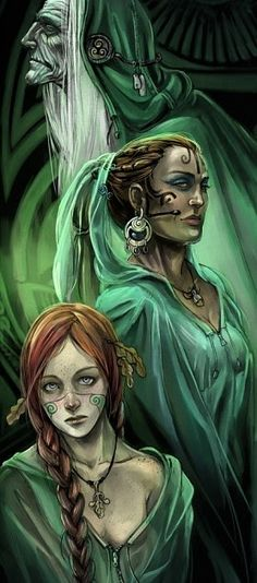 ✯ The Triple Goddess ~ Celtic Maiden, Mother, and Crone Wiccan, Magick, Witchcraft, Maiden Mother Crone, Celtic Mythology, Sacred Feminine, Triple Goddess, Gods And Goddesses, Archetypes