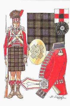 42nd Regiment (Black Watch)    --Best Uniform - Page 208 - Armchair General and HistoryNet >> The Best Forums in History