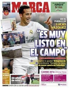 صحف مدريد الخميس 10-3-2016