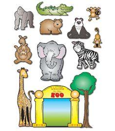 My classroom theme! Zoo Friends Bulletin Board Set - Carson Dellosa Publishing Education Supplies