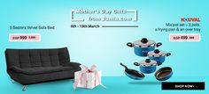 New Offers and Deals: Mothers Day SALE at JUMIA  SHOP NOW  JUMIA delivers to your doorstep avoid getting out in the heat and bad traffic and pay with many convenient methods.  Check their Offers for Mothers Day NOW!  Enjoy up to 50% Off on Fashion Electronics Health Beauty Products and more!  Jumia the best online mall in Egypt serves you by the best possible way. Jumia Egypt is considered number 1 for online shopping Egypt or as many may call it online Souq for whatever you want and more…
