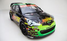 Hyundai Veloster Sponsored by Disney XD to Compete in Global RallyCross. For more, click http://www.autoguide.com/auto-news/2012/04/hyundai-veloster-sponsored-by-disney-xd-to-compete-in-global-rallycross.html