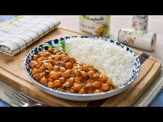 Naut Tikka Masala / Tocana Indiana cu naut (CC Eng Sub) | JamilaCuisine - YouTube Garam Masala, Chana Masala, Curry, Naan, Indiana, Vegetarian Recipes, Food And Drink, Ethnic Recipes, Summer Body