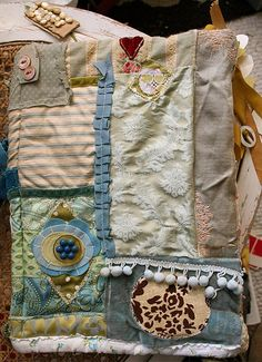 fabric journal back | Explore pam garrison's photos on Flick… | Flickr - Photo Sharing!