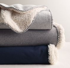 blanket   restoration hardware baby   poly   blue, grey   $120/95   68x86