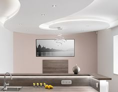 """Check out new work on my @Behance portfolio: """"Modern enterior design - curly ceiling."""" http://be.net/gallery/53894033/Modern-enterior-design-curly-ceiling"""