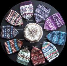 Shetland Collection – Fair Isle hats – Awesome Knitting Ideas and Newest Knitting Models Small Knitting Projects, Knitting Blogs, Hand Knitting, Knitting Tutorials, Knitting Machine, Fair Isle Knitting Patterns, Fair Isle Pattern, Knitting Designs, Fair Isle Chart
