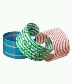 DIY cuff bracelet from water bottles - http://www.jewelryamazing.com/jewelry-diy/diy-cuff-bracelet-from-water-bottles/