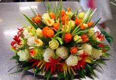 Кулинария Праздник осени Карвинг Для прекрасного настроения Воск парафин Овощи фрукты ягоды фото 1