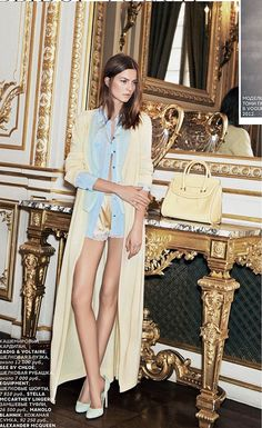 {fashion inspiration   editorial : emeline ghesquiére for vogue russia} by {this is glamorous}, via Flickr