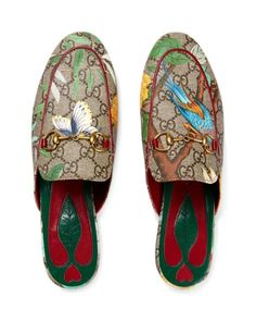 3bde7d7ca39 Gucci Princetown Mules Gucci Shoes