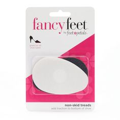 Fancy Feet by Foot Petals 2-pk. Nonskid Outsoles, Multicolor