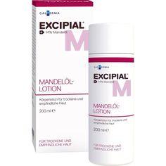 EXCIPIAL Mandelöl-Lotion:   Packungsinhalt: 200 ml Lotion PZN: 09081951 Hersteller: Galderma Laboratorium GmbH Preis: 10,01 EUR inkl. 19…
