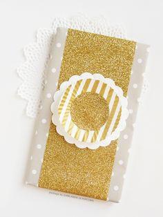 Ghirlanda di Popcorn: #3 : Glittering Wrapping Paper