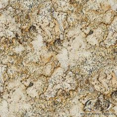 Golden Ice granite is a natural stone that could be used for kitchen countertop surfaces.
