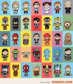 superheroes     From ezmiez.com